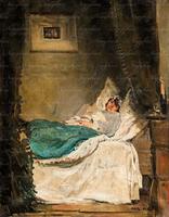 Szüle Péter Délutáni pihenő, 1922  olaj, vászon