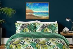 Három kép, egy horizont. Three images, one horizon. Upolu partján. Upolu shore. 70x100cm/db/pc