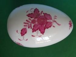 Herend giant egg - apponyi pattern