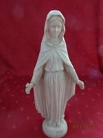 MADONNA DELLE ROSE gipsz figura, magassága 28,5 cm. Vanneki!