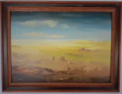 Mizser Pál 60x80 cm festménye