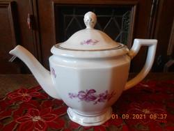 Zsolnay antik tea kiöntő, teás kanna