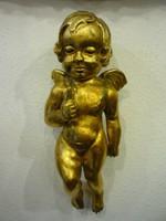 Fa angyal, antik egyházi stílusú ünnepi jellegű faragás.