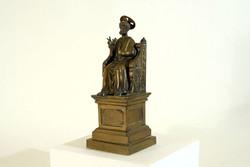 Arnolfo di Cambio St. Peter the Apostle Conquest Bronze Statue Throne Eucharistic Congress