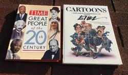 TIME GREAT PEOPLE of the 20 th CENTURY  / CARTOONS und andere Zeichnungen von EIBA