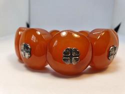 Amber bracelet 59mm in diameter