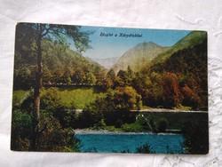 FOGLALT!!! Antik képeslap Erdély Kárpátok 1917