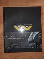Alien - The Weyland-Yutani Report bontatlan ritkak önyv
