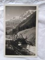 FOGLALT!!! Vintage képeslap/fotólap Olaszország, Ortler hegycsúcs