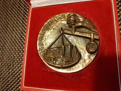 Bronze plaque box