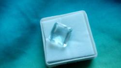 6.75 Carat Aquamarine Gemstone Certificate