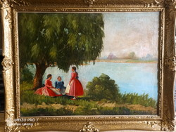 A work of an unknown painter of the 20th century