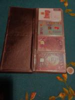 Retro 35 phone cards in holder (gb20-17)