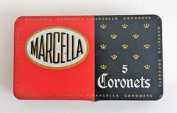Marcella Coronets 5 fém cigarettás doboz - fém doboz