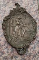 Table ornament wall ornament special rococo ornate copper, bronze casting