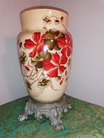 Kerámia váza (petróleum lámpa alsó rész)