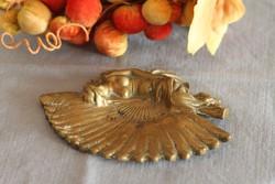 Art Nouveau bronze business card holder (ashtray)