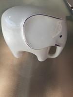 Retro porcelain elephant figurine