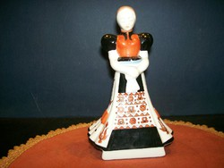 Herend matyo bridesmaid figure