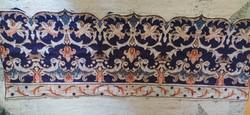 Hand sewn kilim wall cover, tablecloth