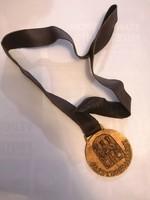 For gastronomy, marked jl! Bronze medal (large) hotel golden bull rt. Debrecen