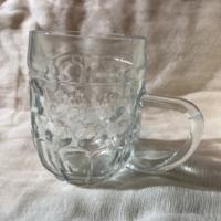 Retro glass beer mug 3dl