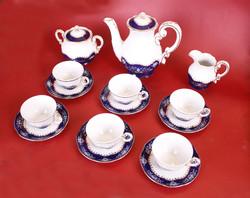 Zsolnay pompadour ii. Coffee / mocha set