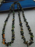 Jade tanzanite emerald etc ... Expensive stone chain in beautiful colors flaunts live 100% natural