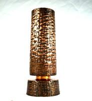 Large copper craftsman vase!