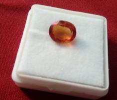 Több termék 1 Ft-ról Gyönyörű narancs Spinell 3.30ct tanúsítvánnyal