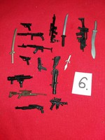 Soldier, warrior action g.I joe star wars and other figures weapon pack in one according to pictures 6