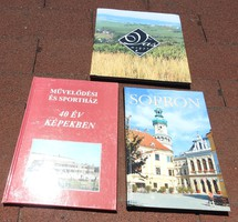 Sopron - cultural and sports house 40 years in pictures - iron county