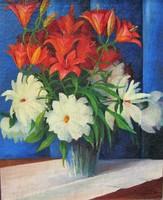 Krizsán János: Virágcsendélet