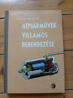 Gépjármüvek villamos berendezése, könyv