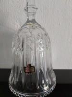 Crystal bell 23 cm high