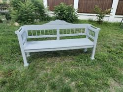Old folk bench