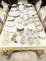 Huge Herend antique tableware collection in gigantic luxury