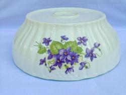 Zsolnay violet garnished, patty bowl