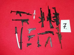 Soldier, warrior action g.I joe star wars and other figures weapon pack in one picture 7