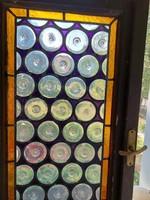 Ólomüveg ablakpár