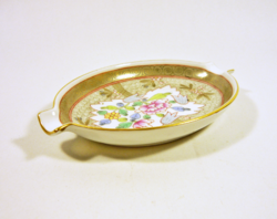 Herend, masterpiece cubash (cu) 13.4 Cm hand-painted porcelain ashtray, flawless! (P050)