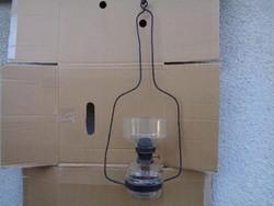 Antik petróleumlámpa