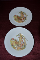 Kahla fairy tale plate set (red and wolf)