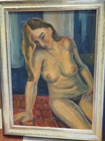 George Ruttkay: female nude