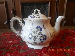 Zsolnay porcelain hand painted tea spout / teapot
