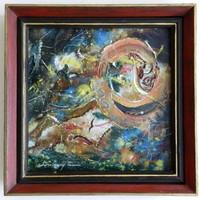 Lossonczy Tamás /1904-2009/ festménye