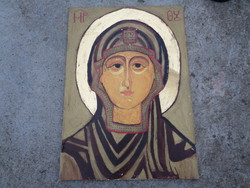 Ikon Szűz Mária portréval