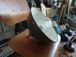 Szarvasi lámpa kisméretű burával, ipari mennyezeti lámpa, loft
