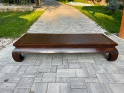 Traditional Chinese, so-called. Opium foot bed, bench, oriental, asian, japanese