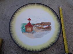 Open-air museum Zalaegerszeg - beautiful decorative plate